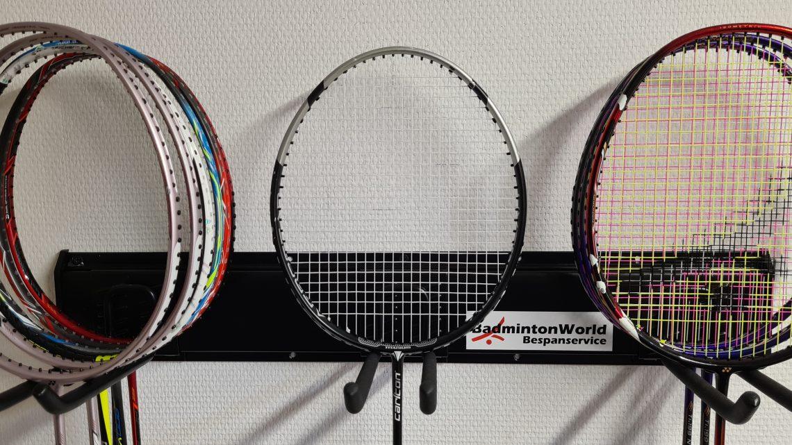 BadmintonWorld Bespanservice